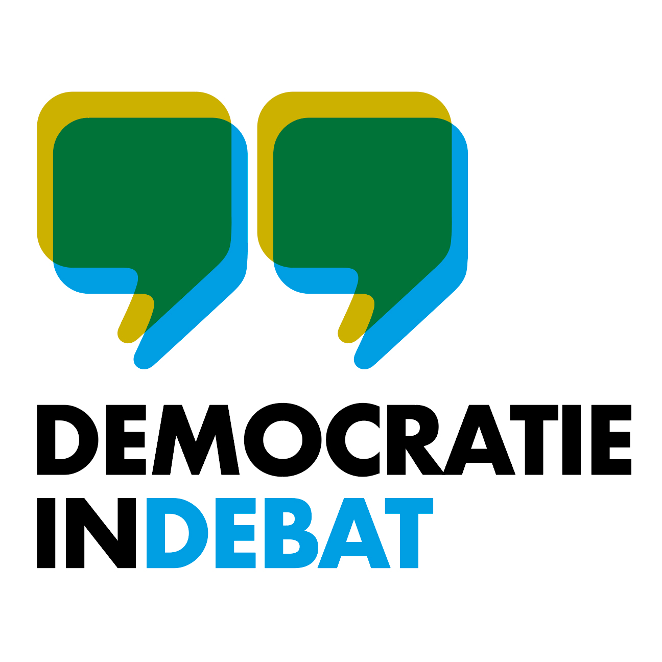 Democratie in Debat logo